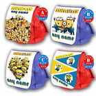 MINIONS Personalised Childrens Backpack Rucksack Despicable Me Bag Kids Gift New