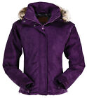 NEW Outback Clothing Co. Ladies Gold Cup Suede Jacket - Plum - S,  M,  L