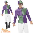 Jockey Mens Fancy Dress Horse Rider Racer Sports Uniform Adults Costume Outfit