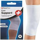 PowerPlast Compression Knee Support Sleeve Bandage Strain Sprain Injury Sport UK