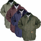 MEN WARM TWEED PADDED COUNTRY OUTDOOR SHOOTING FISHING FARMING TWEED JACKET COAT