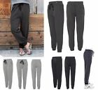 MEN'S FLEECE JOGGERS, SIDE & BACK POCKETS, BANDED CUFFS, DRAWSTRING WAIST, S-3XL