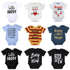 Cotton Toddler Infant Kids Baby Boy Girl Romper Bodysuit Jumpsuit Clothes Outfit