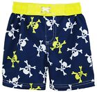 iXtreme Baby Toddler Boys Pirate Skulls Swim Trunk Rashguard