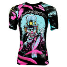 "RASH GUARD RASHGUARD SHORT SLEEVE MMA ""YOU ARE NEXT"" FOR TRAINING FIGHT RUNNING"