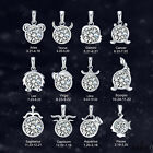 925 Sterling Silver 12 Zodiac Constellation Chain Necklace Pendant UK New Gift