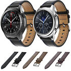 Luxury Leather Watch Band Strap Bracelet Classic Buckle For Samsung Gear S3 New