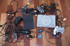 Sony Playstation large lot 2 systems cords controllers singstar microphones nice