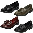 Ladies Spot On Loafer Styled Shoes F80117