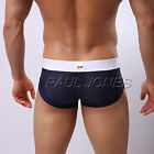 ღ 2017 Mens Mesh Underwear Briefs Boxer Trunks Pouch Men Shorts Pants Size S M L
