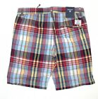 Gant C.W. Boy Madras checked Shorts Baby Olive Leaf *** NEU ***