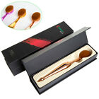1pcs Tooth Brush Foundation Brush Mermaid Oval Powder Makeup Brush with Gift Box