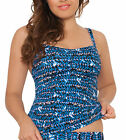 Curvy Kate CS2906 Instinct Tankini Top Swimwear in Deep Sea Blue