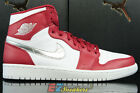NIKE AIR JORDAN 1 RETRO HIGH RED SILVER WHITE 332550-602 NEW SIZE 9
