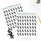 Chicago White Sox Planner Stickers - Perfect for all Planners like Erin Condren