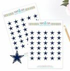 Dallas Cowboys Planner Stickers - Perfect for all Planners like Erin Condren $3.75 USD on eBay