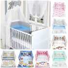 LUXURY 3 PIECES NURSERY - BABY BEDDING SET- BUMPER-PILLOW-QUILT COVER to fit COT