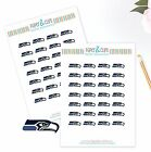 Seattle Seahawks Planner Stickers - Perfect for all Planners like Erin Condren $3.5 USD on eBay