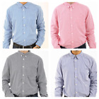 Mens Ex Next Mini Check Slim 100% Cotton Long Sleeve Casual Smart Shirt