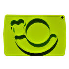 Non-slip Silicone Integrated Round Cute Place mat Kid Feeding Food Tray Plate