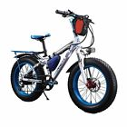 15In New 7 Speed 350W 36V Fat Tire Electric Bicycle Curiser eBike Mountain Bike