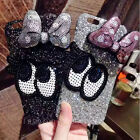Luxury Bling Glitter Minnie Mouse Bowknot Eyes Case Cover for iPhone 6 6S 7 Plus