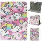 Universal Lovely Unicorn Leather Case Cover Stand For 7* ~ 7.9* Inch Tablet PC