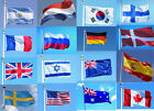 3'x5' Ft World Country National Polyester Usa Canada Uk Germany Flags -2017
