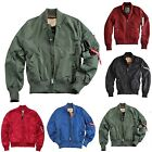 "Alpha Industries Fliegerblouson ""MA-1 TT"" aus 2Tone Nylon Art.191103 § NEU §"