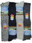 4 Mens PENNINE WALKER Wool Rich THERMAL Long Hose Walking Boot Socks UK 6-11