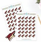 Arizona Coyotes Planner Stickers - Perfect for all Planners like Erin Condren $3.5 USD on eBay