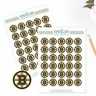 Boston Bruins Planner Stickers - Perfect for all Planners like Erin Condren $2.5 USD on eBay