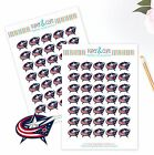 Columbus Blue Jackets Planner Stickers - Perfect for Planners like Erin Condren $3.5 USD on eBay