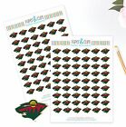 Minnesota Wild Planner Stickers - Perfect for all Planners like Erin Condren $3.5 USD on eBay