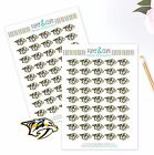 Nashville Predators Planner Stickers -Perfect for all Planners like Erin Condren $4.0 USD on eBay