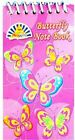 Butterfly Note Books - notepads Memo - Party Crafts