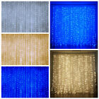 20ft x 10ft LED Lights Organza BACKDROP Curtain Photobooth Wedding Party SALE