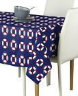 Life Saver Floats Blue Signature Tablecloths - Assorted Sizes!