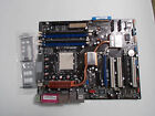 ASUS A8N-SLI Deluxe, Socket 939, AMD Motherboard and Backplate