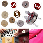 10/50PCS Magnetic 14mm Fastener Snaps Clasps For Purse Bag Craft Sewing Button
