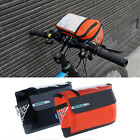 Bicycle Cycling Folding Bike Front Handlebar Bag Basket Transparent PVC Pouch