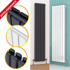 Vertical Designer Radiator Oval Column Tall Upright Central Heating Radiator New