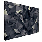 Abstract Futuristic Crystal Tones Canvas Art High Quality Great Value