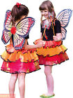 Girls Deluxe Fairy Costume Childs Travis Tutu Wings + Wand Fancy Dress Outfit