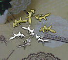20/100/300pcs 20x10mm Antique silver Bronze Jewelry delicate fox charms pendants