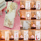 sumsung galaxy 5 - Bling Handmade Synthetic Leather flip wallet cover case For Samsung S8  iPhone 8
