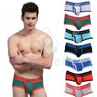 Men Underwear Bulge Pouch Trunks Boxer Briefs Shorts Nightwear Underpants S-XL