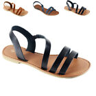 New Womens Sandals Shoes Gladiator Thong Flops Slip On Flip Flat open Toe