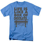 Forrest Gump Movie Quote LIFE IS LIKE A BOX OF CHOCOLATES T-Shirt All Sizes