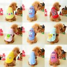 NEW Dog Pet Shirt Stripe Cat Vest Dog Clothes Dress  Pet Clothes  XXS XS S M L